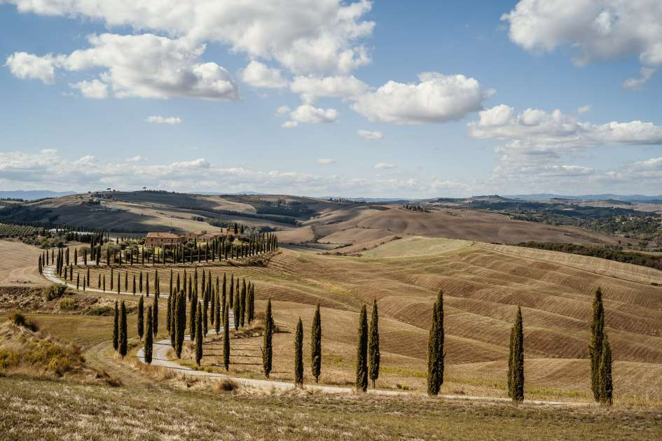 A beautiful Tuscan landscape